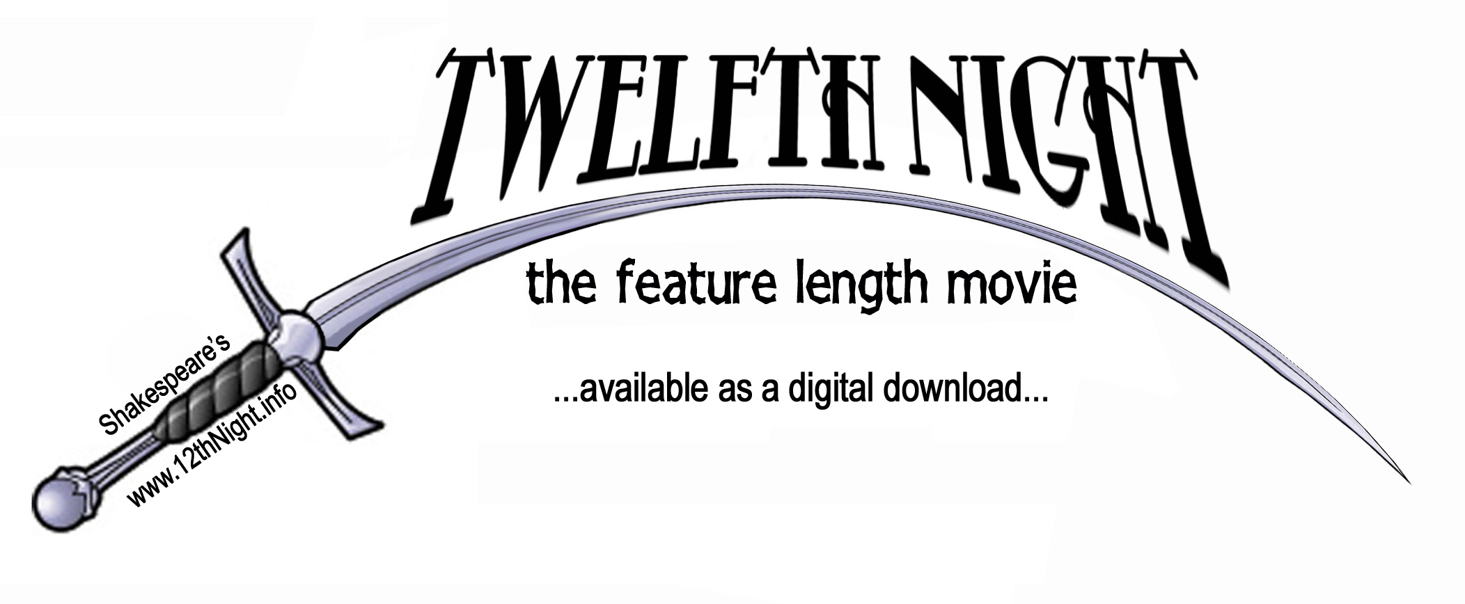 Twelfth Night Internet Feature Film Homepage Official Website Logo